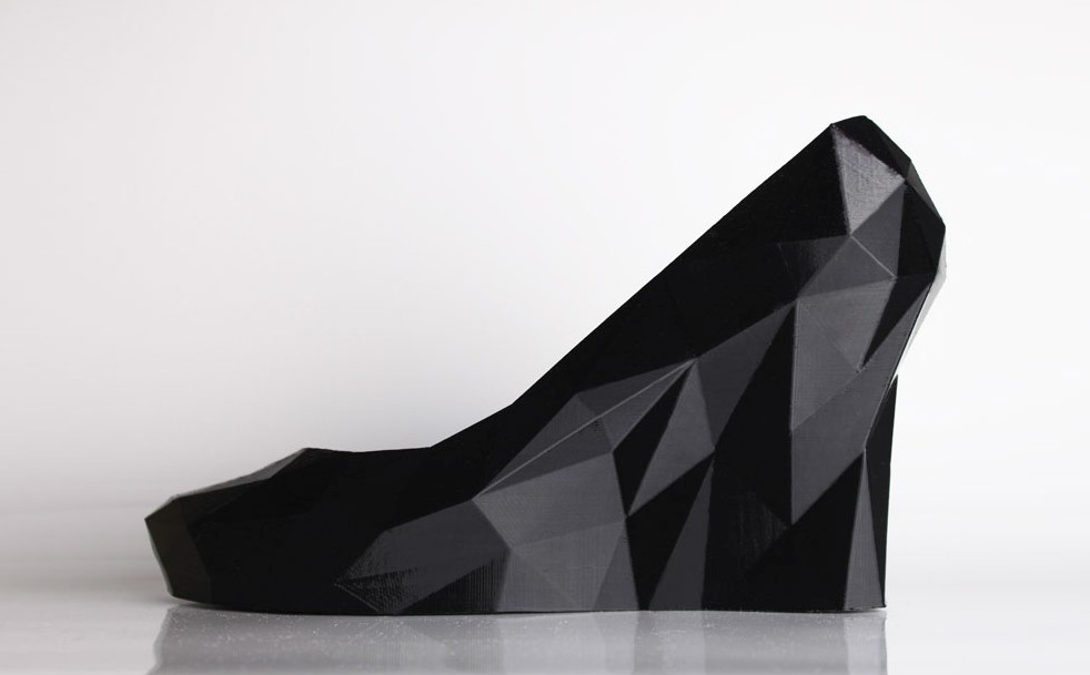 Strvct Black Wedge by Continuum Fashion
