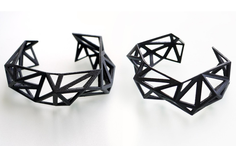 Geometric Cuff by Archetype Z Studio