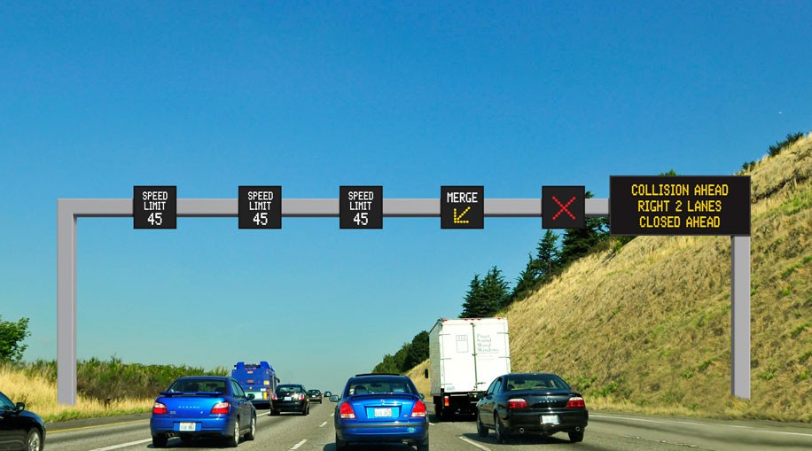 Seattle Dynamic Speed Signs