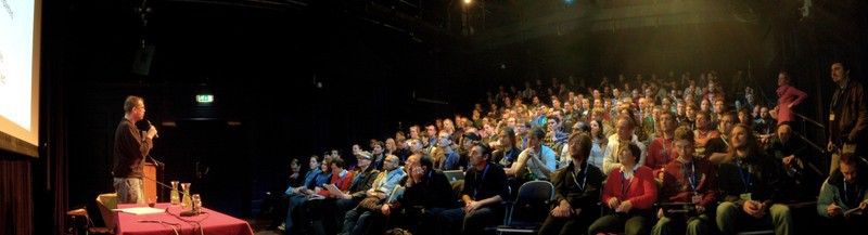 Blender Conference 2012. Image courtesy of BlenderNation