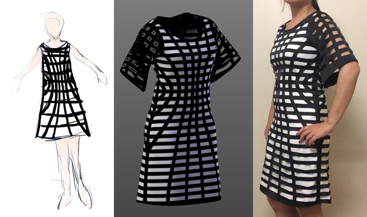 I made a dress using 3D modeling, math, and lasers!